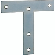 ProSource TP-Z05-C2PS T-Plate 5 By 5 Inch Zinc Plated Steel 2 Pack