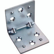 ProSource BH-604PS Double Wide Corner Braces 1-1/2 By 1-1/2 By 0.07 Inch Zinc Plated Steel 2 Pack