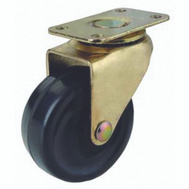 ProSource JC-D01-PS Plate Caster Medium Duty 1-5/8 Brass 2 Pack