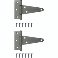 ProSource HTH-G04-C2PS Heavy Duty T-Hinges 4 Inch Galvanized 2 Pack