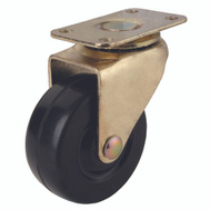 ProSource JC-D05-PS Plate Caster Medium Duty 2 Inch Brass 2 Pack