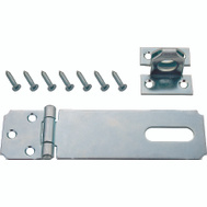 ProSource LR-128-BC3L-PS Safety Hasp 6 Inch Zinc Plated Steel