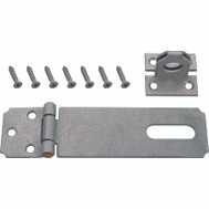 ProSource LR-131-BC3L-PS Safety Hasp 3-1/2 Inch Galvanized Steel