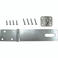 ProSource LR-129-BC3L-PS Safety Hasp 6 By 1-3/4 Inch Zinc Plated Steel