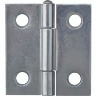 ProSource LR-047-PS Utility Hinge Steel Zinc Plated Steel 1 Inch By 1 Inch 2 Pack