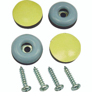 ProSource FE-S201-PS Furniture Slide Glides With Screws 1 Inch 4 Pack