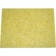 ProSource FE-S105-PS Pads Square Felt 4-1/2 By 6 Inch Beige 2 Pack