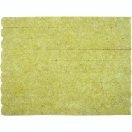 ProSource FE-S106-PS Strip Guard Felt 1/2 By 6 Inch Beige 9 Pack