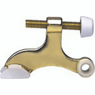ProSource H20-B040C-PS Contoured Hinge Pin Door Stop Polished Brass