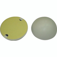 ProSource FE-S715-PS Dome Door Bumpers Self Adhesive 2-1/4 Inch White Plastic 2 Pack