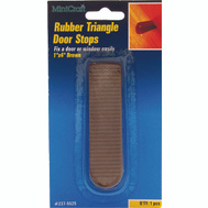 ProSource FE-50924-PS Traditional Wedge Door Stop 1-1/4 By 4 Inch Brown 1 Pack
