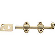 ProSource 23260BBB-PS Surface Bolt 4 Inch Brass Plated
