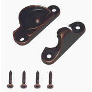 ProSource 802519VB-PS Sash Lock 2-1/2 Inch Venetian Bronze