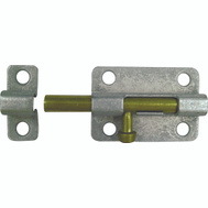 ProSource CL-192-PS Barrel Bolt 3 Inch Galvanized Steel With Brass Bolt