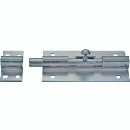 ProSource BH-103-PS Lockable Barrel Bolt 4 Inch Zinc Plated Steel