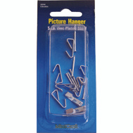 ProSource PH-121005-PS Picture Hanger With Nail 5 Pound Zinc Plated 8 Pack
