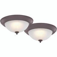 Boston Harbor ZD13-BN-C 2Pk 13In Ceiling Light Nickel