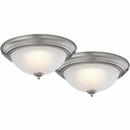 Boston Harbor ZD13-BR-C 2Pk 13In Ceiling Lights Bronze