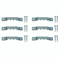 ProSource PH-121140-PS Picture Hanger Small Nail-In Zinc Plated 6 Pack