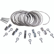 ProSource PH-121127-PS Picture Hanging Set 20 Pound Capacity Zinc Plated