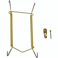 ProSource PH-122052-PS Plate Hanger 8 To 11 Inch Polished Brass