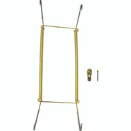 ProSource PH-122056-PS Plate Hanger 14 To 18 Inch Polished Brass