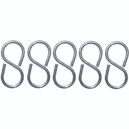 ProSource LR-374-PS S-Hook 2-1/8 Inch Closed Zinc Plated Steel