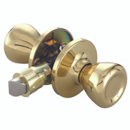 ProSource T-5764PB-PS Mobile Home Passage Lockset Polished Brass