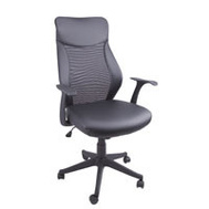 HomeBasix FY-1352-9 Chair Office Mesh Black Finish