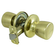 ProSource TS730BRA4B Economy Tulip Passage Lockset Polished Brass Box Pack