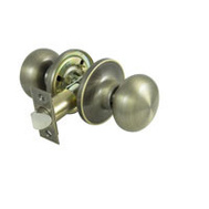 ProSource TF830V-PS Baron Passage Lockset 6 Way Latch Antique Brass