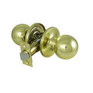 ProSource T3730V-PS Saturn Passage Lockset 6 Way Latch Polished Brass