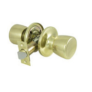 ProSource TS730V-PS Gallo Passage Lockset 6 Way Latch Polished Brass