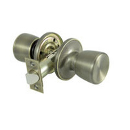 ProSource TS830V-PS Gallo Passage Lockset 6 Way Latch Antique Brass
