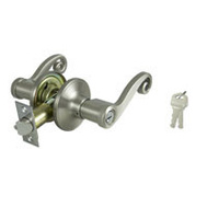 ProSource L6P00V-PS Savannah Entry Leverset Reversible 6 Way Latch Satin Nickel KA3