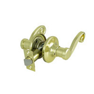 ProSource L6703V-PS Savannah Passage Leverset 6 Way Latch Polished Brass