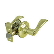 ProSource LYE701V-PS Naples Privacy Leverset 6 Way Latch Polished Brass