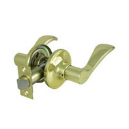 ProSource LYE703V-PS Naples Passage Leverset 6 Way Latch Polished Brass