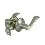 ProSource LYEX203V-PS Naples Passage Leverset 6 Way Latch Satin Nickel