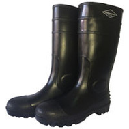 DiamondBack L-G06B15 Boot Knee Pvc Matt Blk Size 15