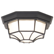 Boston Harbor LED-3003M Flush Mount Led Outdoor Blk