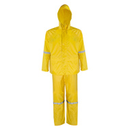 DiamondBack RS3-01-XL Rain Suit Poly/Pvc X-Large 3Pc