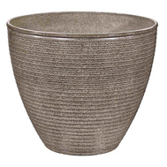 Landscapers Select PT-S005 Planter Wave Resin 13X11in