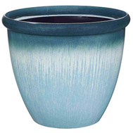 Landscapers Select PT-S010 Planter Egg W/Rim Rsn 14.75In