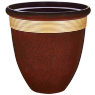 Landscapers Select PT-S018 Planter Tall Wave Resin 18In