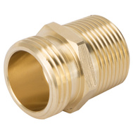 Landscapers Select GHADTRS-1 Connector Brass 3/4 NHT By 3/4 NPT By 1/2 NPT