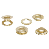 Vulcan JL-VT15989 Grommets Brass Pltd 25Pc 1/2In 25 Pack