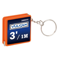 Vulcan W996 Key Ring Mini Tape Rule 3Ft