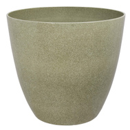 Landscapers Select PT-S024 Planter Resin Stone Fnsh 18In
