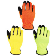 DiamondBack 3101G Gloves Work Leather Palm 3Pk 3 Pack